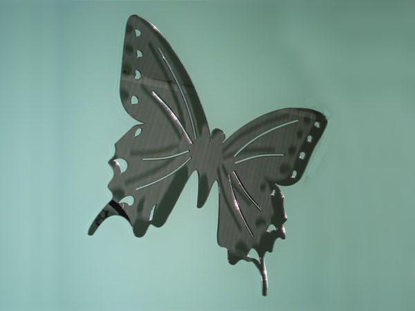 Espejo adhesivo mariposa for Espejo adhesivo